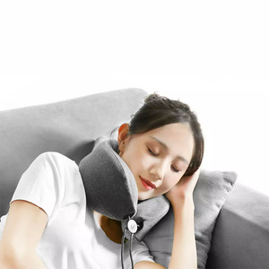 Image 4 - Low Frequency Neck Massage Pillow Sleep Neck Pillow Memory Cotton Material  Leisure And Relaxation Massage Pillow