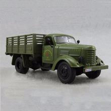 1/32 Армейский зеленый jiefang военный грузовик Литой Грузовик