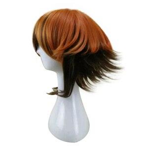 Image 5 - HAIRJOY 합성 머리 보라색 블루 혼합 레드 코스프레 가발 스트레이트 Ombre 의상 가발 2 색상을 사용할 수