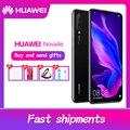 HUAWEI P30 Lite Nova 4e Smartphone 6.15 polegada Cheia Tela Android 9.0 Dual SIM Slot Para Cartão 2312x1080 Kirin 710 Octa Núcleo 4 * Câmeras