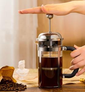 Image 1 - Franse Druk Pot Koffie Hand Brouwen Pot Set Thuis Brouwen Koffie Filter Apparaat Melkopschuimer Thee Maker Koffie Filter Cup