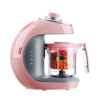 Haier 2in1 Electric Baby Food Maker Steamer Food Mixers Milk Frother Baby Food Supplement Fully Automatic Juicer Juice Container