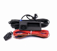 RGB Rear View Camera + Cable Harness For Tiguan Golf Polo MK6 Passat B7 Touran EOS CC Beetle RCD510 RNS315 RNS310