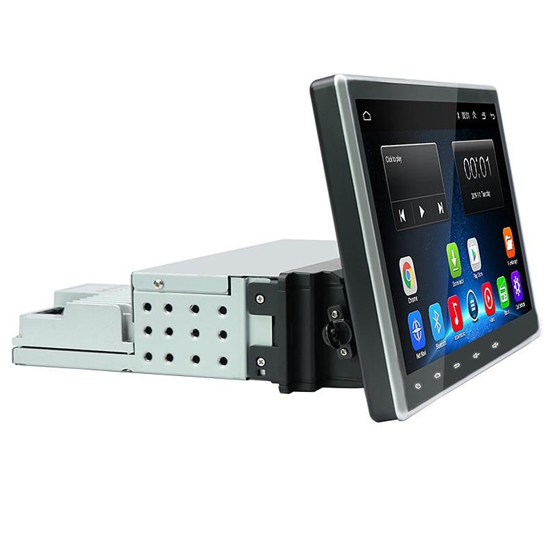 Universal 1Din Adjustable HD Car Radio Stereo GPS Player BT OBD Wifi Andriod 8.1