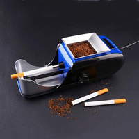 Portable metal electric cigarette machine technology gadgets filling with empty pipe roller tobacco smoking christmas gift