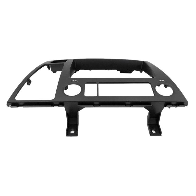 Car Radio Facia Dash Kit Panel Fascia Plate For Nissan Elgrand (E51) 2002-2010 Dvd Cd Panel Trim Plate Frame Console