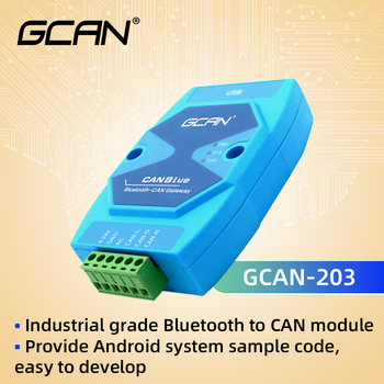 Industrial grade bluetooth to CAN-Bus communication converter with USB interface has CAN bus and Bluetooth test function. gy8507 usb to can bus interface adapter usb can canusb