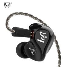 KZ ZS3E Zwart Oortelefoon Dynamische HIFI Stereo Headset In Ear Monitor Sport Hoofdtelefoon Noise Cancelling Gaming Muziek Oordopjes Limited