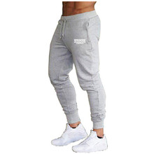 2020 Summer New Fashion Thin section Pants Men Casual Trouser Jogger Bodybuilding Fitness Sweat Time  Sweatpants