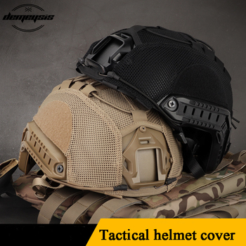 цена на Tactical Multicam Helmet Cover Airsoft Paintball Wargame Gear FAST Helmets Covers Protect Shooting Military Helmet Accessories