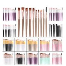 Brushes-Set Eyeshadow Beauty-Brush-Tools Eye-Makeup Concealer Eyelash Foundation 10pcs