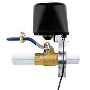 Image 3 - Wifi inteligentny kontroler zaworów do systemu automatyki domowej do sterowania głosem gazu lub wody inteligentny dom Alexa Echo Google Home EU Plug