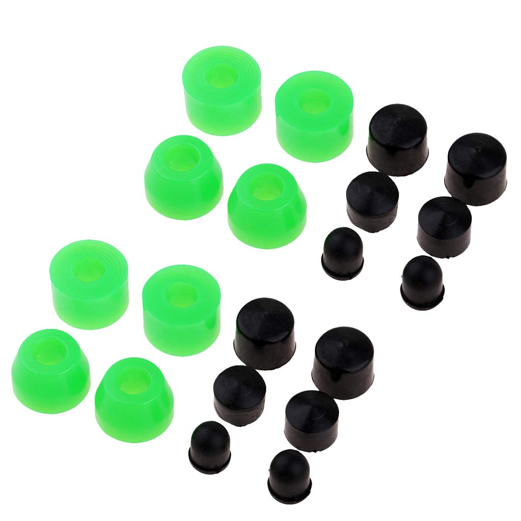 20 Pieces Replacement Skateboard Truck Bushing Set for Longboard Rebuild Kit 85A Outdoor Skateboarding Accessories