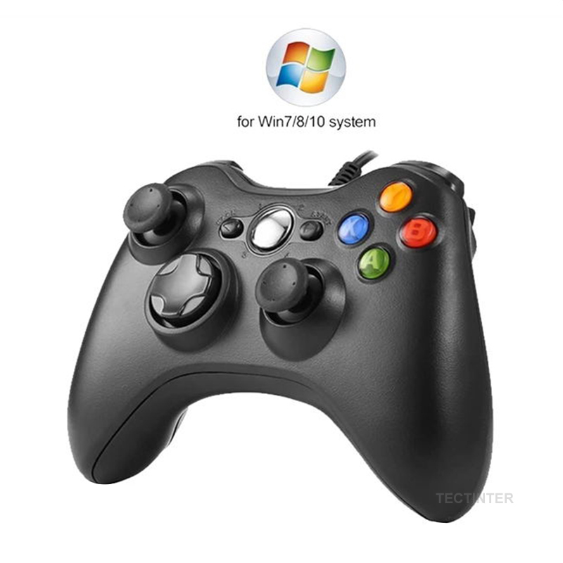 Джойстик для ПК, геймпад для For Windows 7/ 8/10, несовместим с Xbox 360, работа от USB