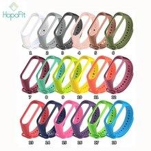 Hopofit Voor Xiaomi Mi Band 2 Polsband Riem Siliconen Polsbandje Voor Mi Band 2 Smart Armband Accessoires