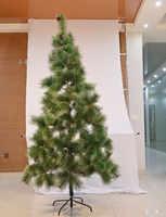 60-240cm árvore de natal artificial para decorações de casa presente das crianças árvore de plástico ano novo decoração do feriado delicado