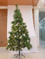 60-240cm arbre de noël artificiel pour la maison décorations enfants cadeau en plastique arbre nouvel an vacances décoration délicate