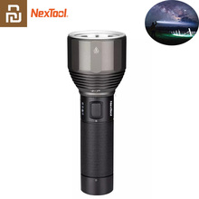 Youpin NexTool S.O.S 손전등 380m USB 충전식 5 모드 IPX7 방수 LED 손전등 Type C 캠핑을위한 토치 검색