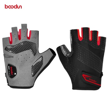Men Women Bicycle Gloves Half Finger Breathable Anti-slip Cycling Gloves Shockproof Palm Padded Road Mountain Bike MTB Glove rockbros cycling bike half finger gloves shockproof breathable mtb mountain bicycle gloves men women sports cycling clothings