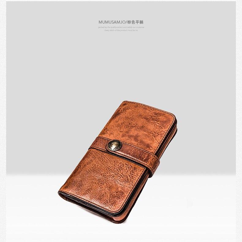 personalidade carteira de couro do telefone móvel