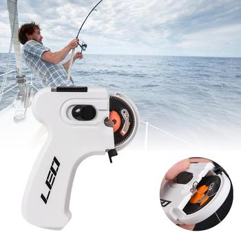 Electric Automatic Fishing Hook Multifunctional Hooking Device Fishing Accessories Fishing Line Winder Portable Automatic Hook multi function automatic fishing gear lazy alarm fishing tackle hook double hook automatic fishing launcher
