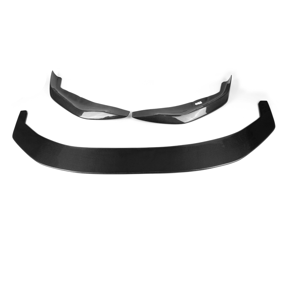 Купить с кэшбэком For BMW G30 G31 M sport 530i 540i 17-19 Carbon Front Bumper Lip Splitter Body Kit