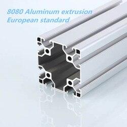 2020 förderung Europäischen standard 8080 2mm dicke extrudierten aluminium profil aluminium legierung rahmen für CNC builde