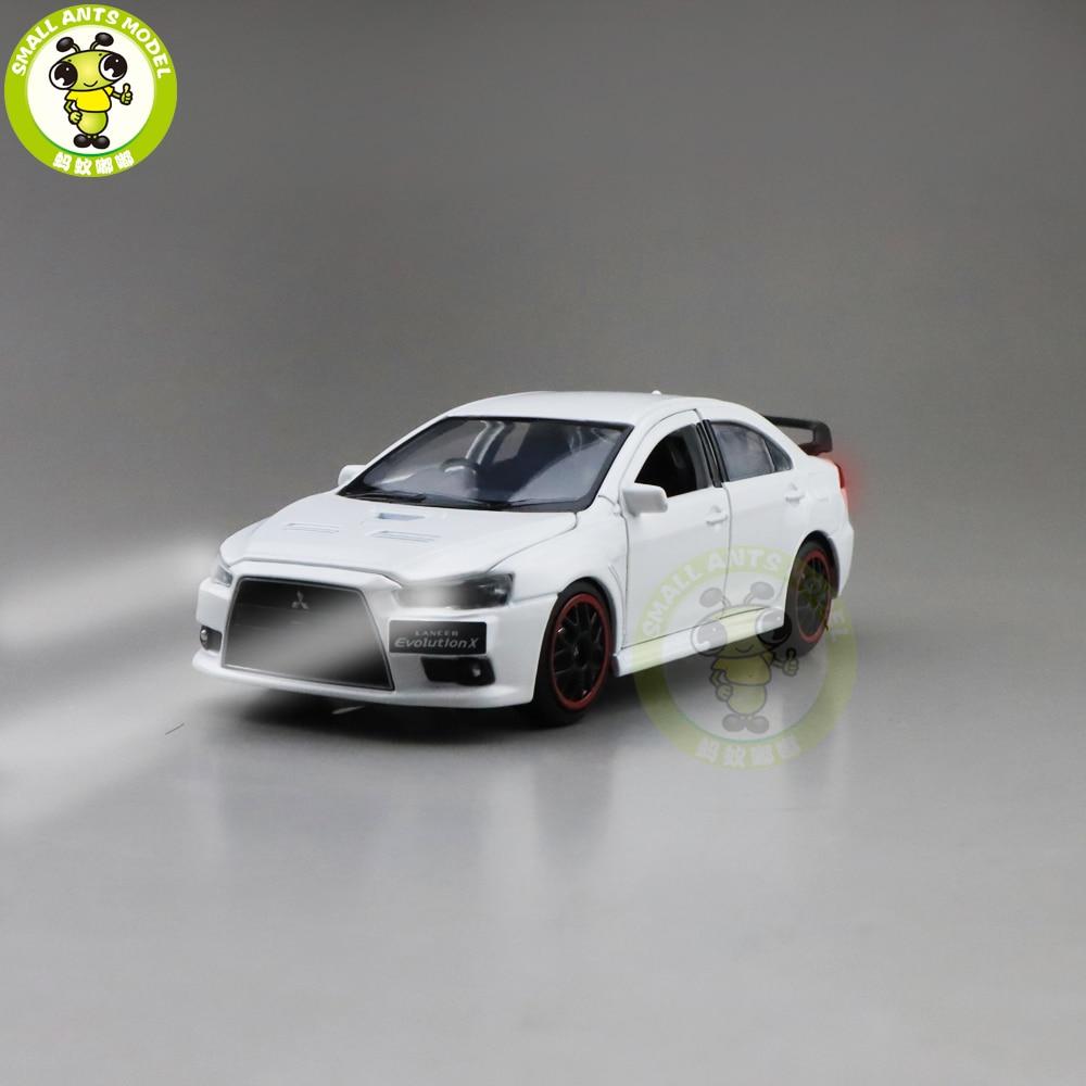 1/32 JACKIEKIM Lancer EVO X 10 BBS RHD Diecast Model CAR Toys For Kids Boy Girl Gifts