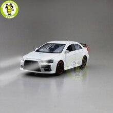 JACKIEKIM Lancer EVO X 10 BBS RHD, jouets de voiture modèle moulé, cadeaux pour garçons et filles, 1/32