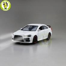 JACKIEKIM Lancer modelo de coche fundido a presión EVO X 10 BBS RHD, juguetes para niños, regalos para chico y Chica, 1/32