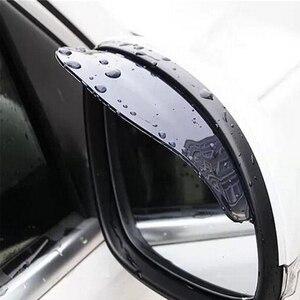 2pcs PVC Car Rear view Mirror sticker rain eyebrow For Mazda 3 6 Spoilers CX-5 CX7 CX3 CX5 626 M3 M5 MX5 RX8 Atenza(China)