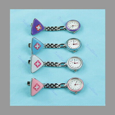 Doctor Nurse Watch stainless steel with brooch occasion op 99 S0237 sent from Italy
