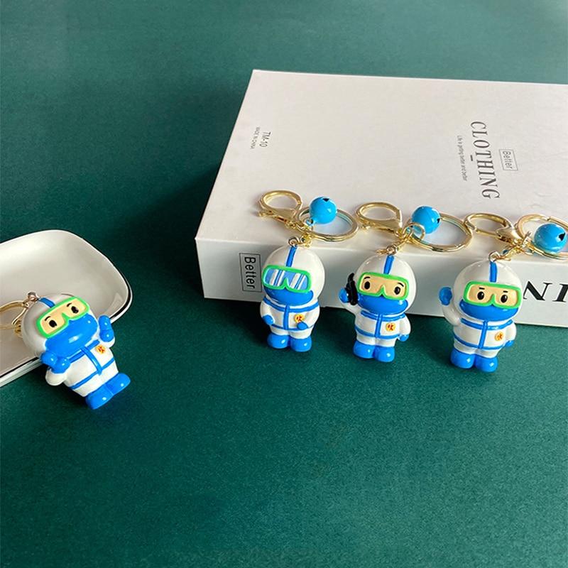 Medicina chaveiro pingente chaveiro para doutor enfermeira escola presente jóias arte anime chaveiros jóias