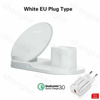 Ασύρματη βάση φόρτισης για iPhone AirPods Apple Watch, Series 5/4/3/2 iPhone 11 X XS. A.I. Σπίτι - Γραφείο - Επαγγελματικά Γραφείο Gadgets MSOW