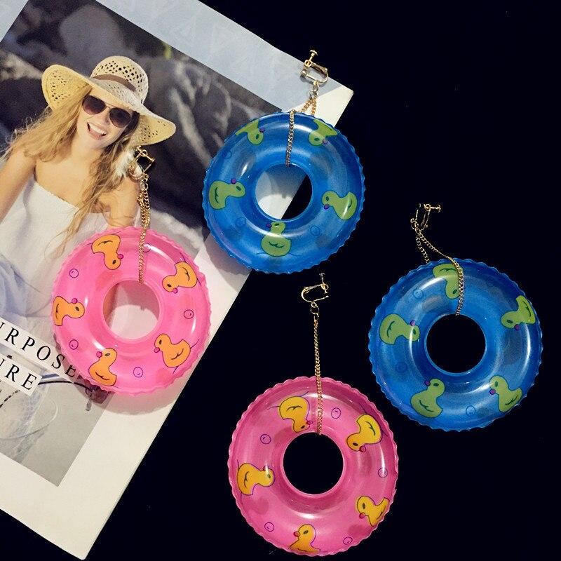 Серьги-подвески женские большие, креативные ювелирные украшения для ночного клуба, диджея, бассейна, вечеринки, массивные ювелирные украше...