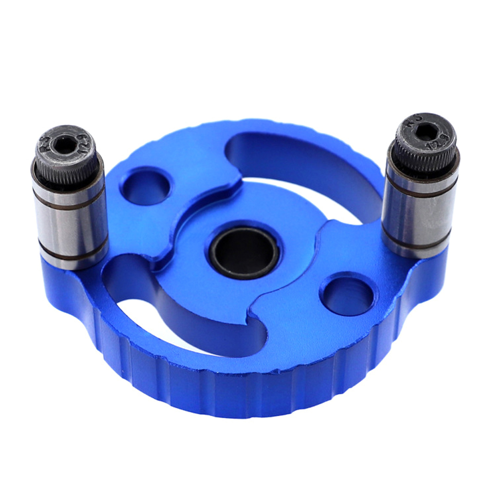 Woodworking Straight Hole Punched Locator Self-Aligning Log Tenon Joint Borehole Locator Building Blocks Center Punch Tool