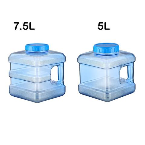 5l 75l pc quadrado plastico transparente recipiente