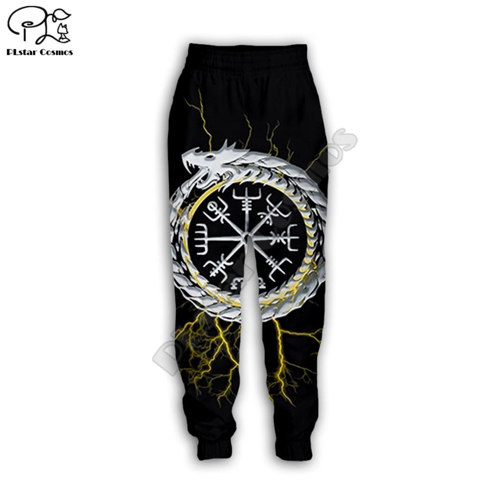 PLstar Cosmos 2020 New Men For Women Casual Pants Viking Tattoo 3d Printed Jogging Hip Hop Long Sweatpants Style-5