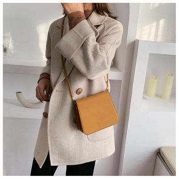 Round bag female 2020 spring and summer new high-end feeling French small group foreign style texture popular messenger bag