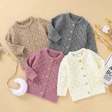 Winter Jacket Coats Sweater Outwear Newborn Baby-Girl Kids Boy Infant for Warm Knit