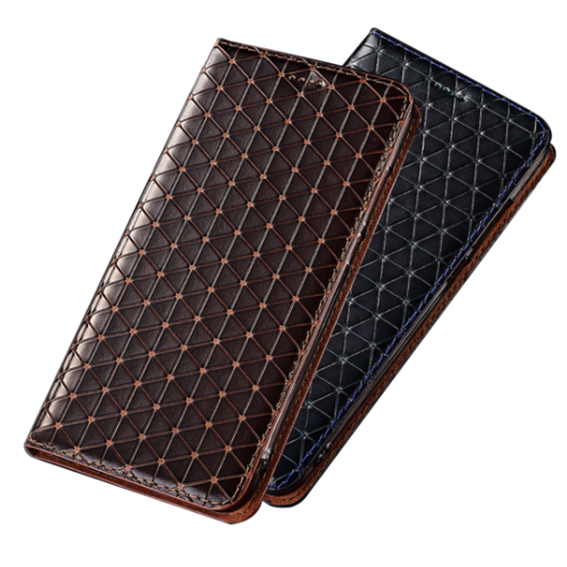 Luxury Genuine Leather Magnetic Holster Cover <font><b>Case</b></font> For <font><b>Sony</b></font> <font><b>Xperia</b></font> L4/<font><b>Sony</b></font> <font><b>Xperia</b></font> <font><b>L3</b></font>/<font><b>Sony</b></font> <font><b>Xperia</b></font> L2 <font><b>Phone</b></font> <font><b>Case</b></font> Card Slot Holder image