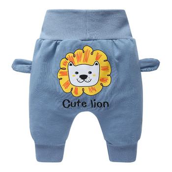 Detaliczna gorąca sprzedaż wiosenne i jesienne ubrania dla dzieci chłopcy dziewczęta spodnie haremowe bawełniane spodnie tygrysie spodnie dla niemowląt chłopięce spodnie tanie i dobre opinie Unini-yun Zwierząt REGULAR dla dziewczynek COTTON CASHMERE Wełniana Nowoczesne Dobrze pasuje do rozmiaru wybierz swój normalny rozmiar