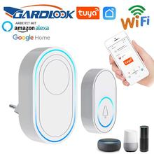 Беспроводной дверной звонок app wi fi умная домашняя сигнализация