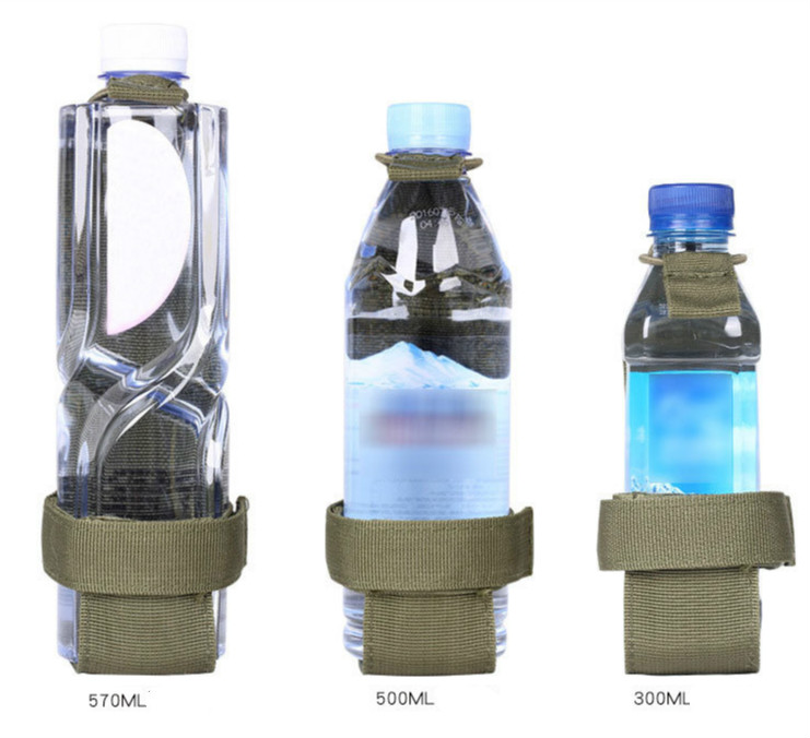 Water Bottle Holder Bag Military Army Camping Hiking Kettle Carrier Belt Pouch
