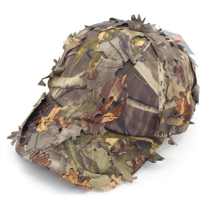 Jogo de guerra camuflagem sniper boné camuflagem