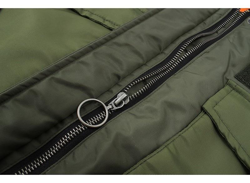 Hff31c8ff433c4503a56b833a6f2ae1ceq Artsnie Autumn 2020 Bomber Jacket Women Army Green Warm Zipper Pockets Winter Coat Female Jacket Parkas Femme Chaqueta Mujer