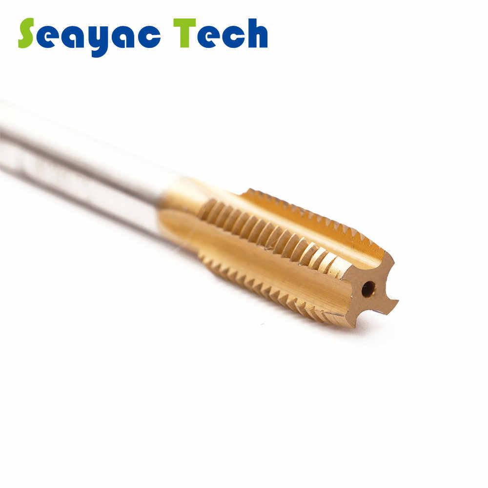 M2 機コバルトストレート sprial フルートチタンコーティングでネジをタップタップワイヤータッピング高速度鋼材料タップ