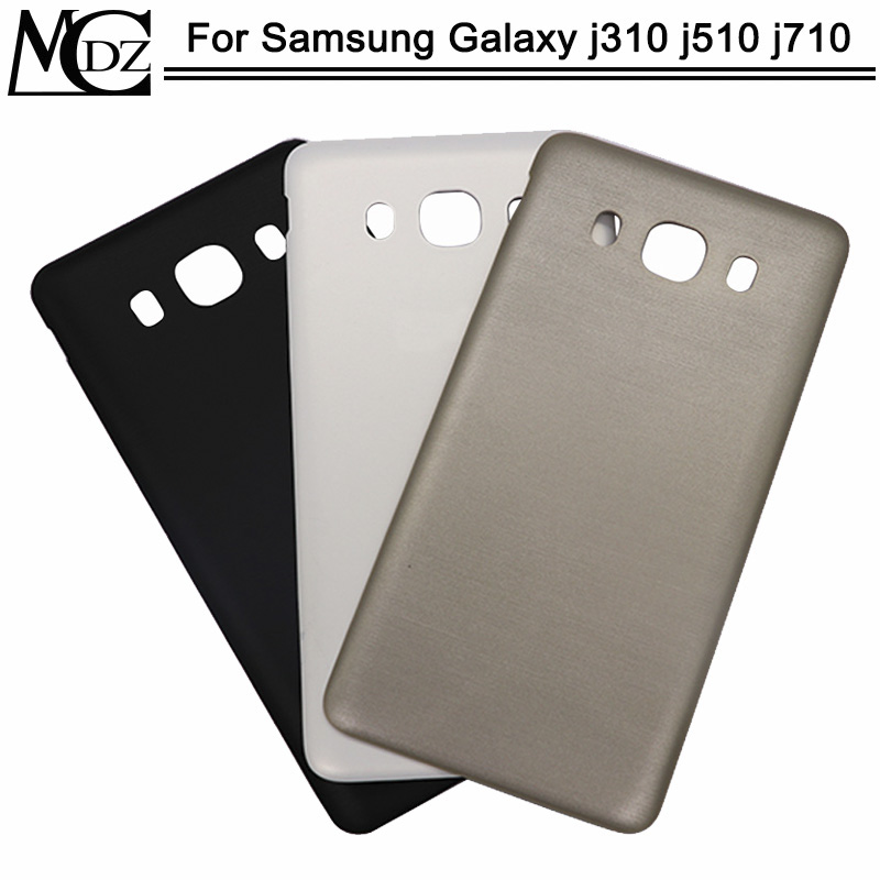 New J3 J5 J7 2016 Battery Cover For Samsung Galaxy J310 J510 J710 Back Cover Rear Plastic Door Housing Case