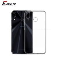 Funda de TPU suave y transparente para teléfono móvil Asus, cubierta trasera de silicona ultrafina para ZenFone 6 ZS630KL 5 5Z ZS620KL ZE620KL