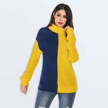Autumn Long sleeve knitted turtleneck sweater Women Casual oversized Pull sweater winter Fashion Knitwear Loose Pullovers Jumper brand casual turtleneck sweater men pullovers autumn knitwear